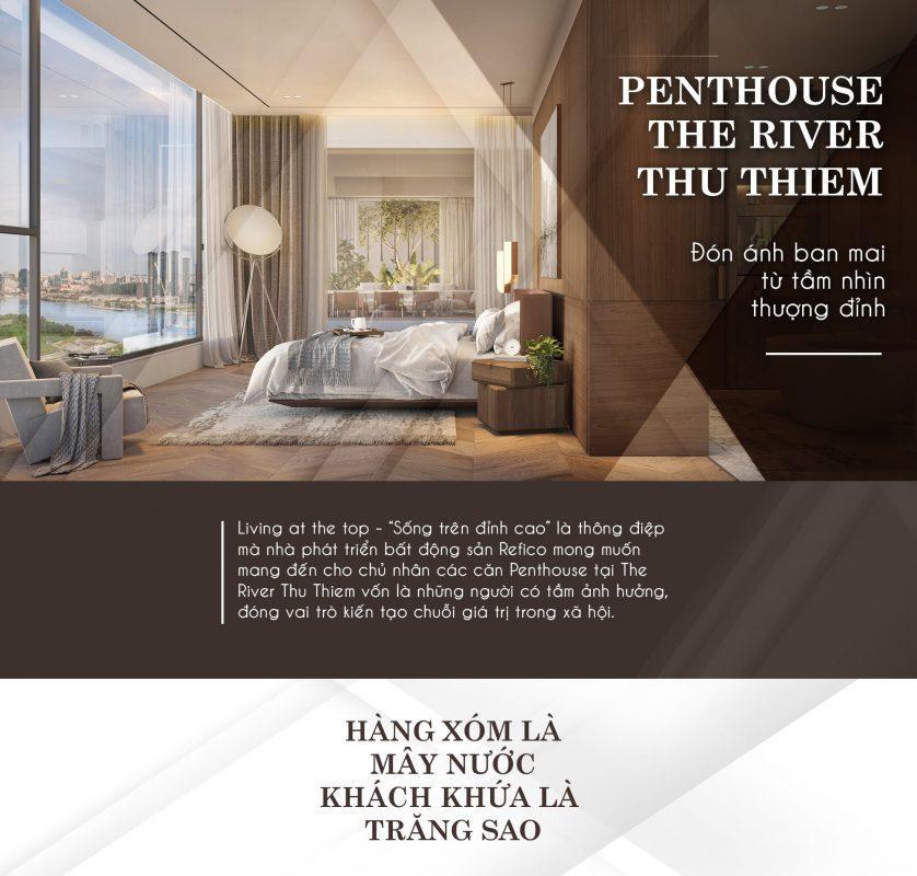 Penthouse The River Thủ Thiêm