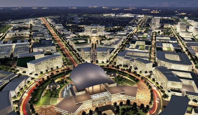 Quy hoạch thành phố Phía Đông