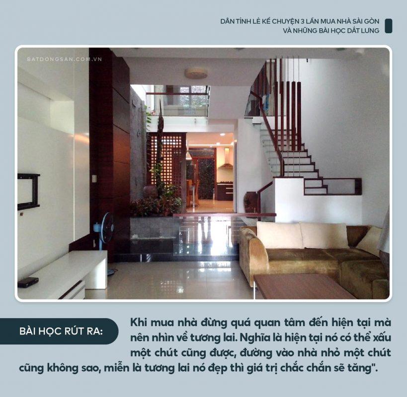 Kinh nghiệm mua nhà Sài Gòn